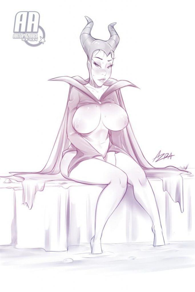 Cartoon Nude Maleficent