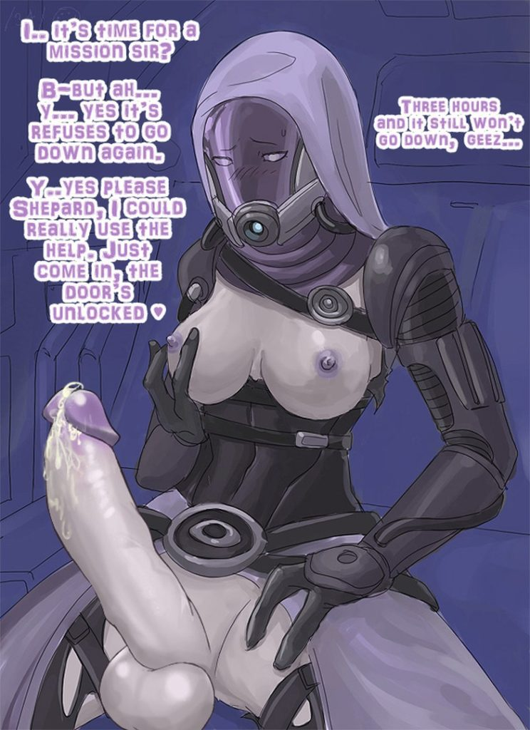 Mass Tali huge futanari cock rule 34