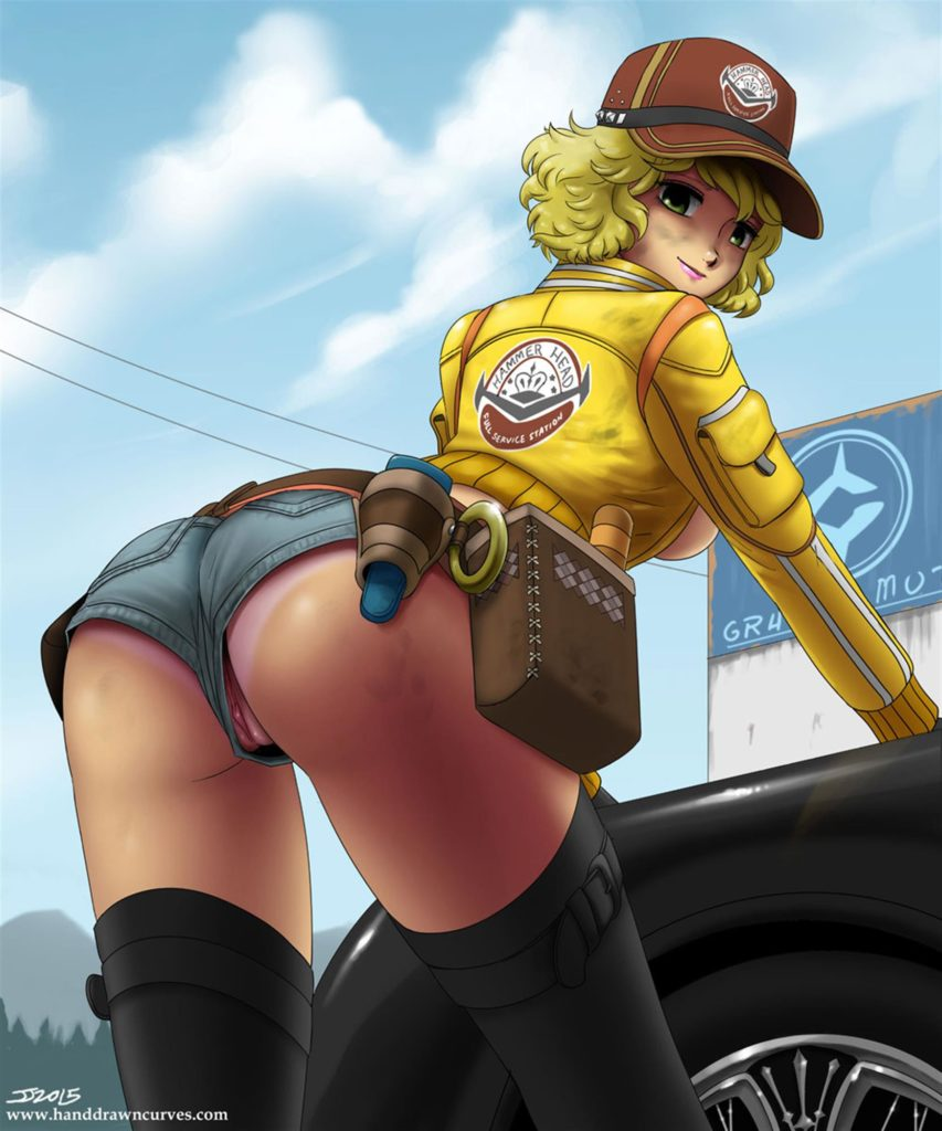 Cindy butt pose