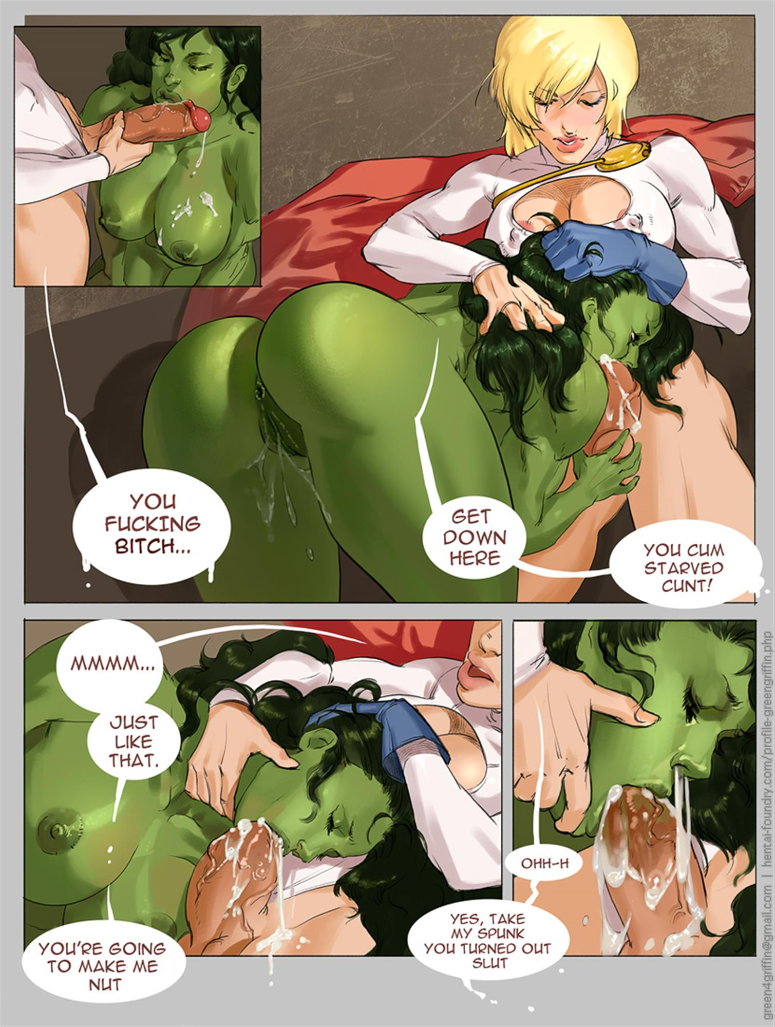 Apologise, can Power girl rule 34 comics the