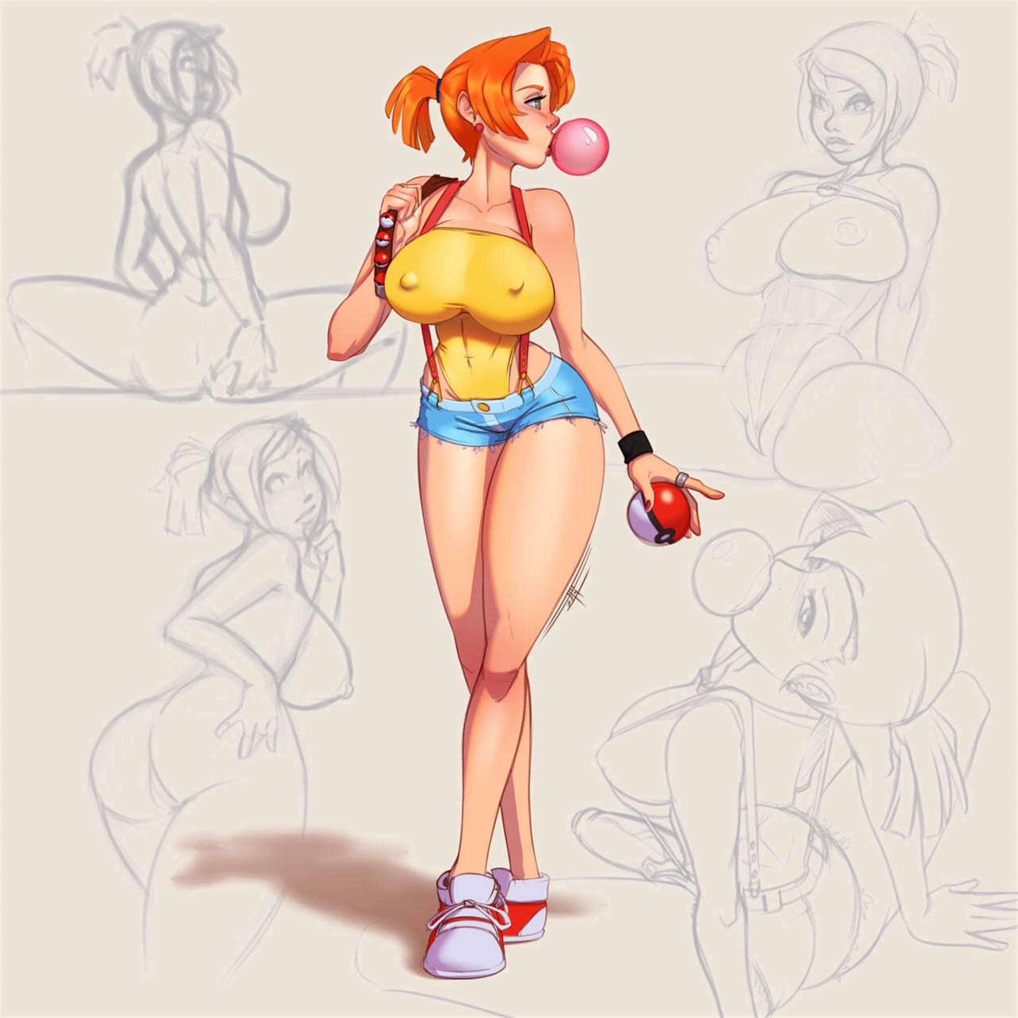 Pokemon age misty