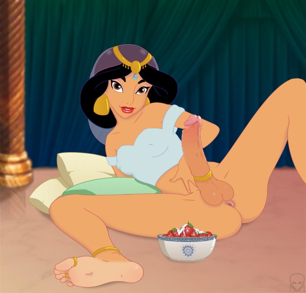 Jasmine came on a bowl of strawberries