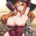 Sorceress is thick and her nipples are poking out