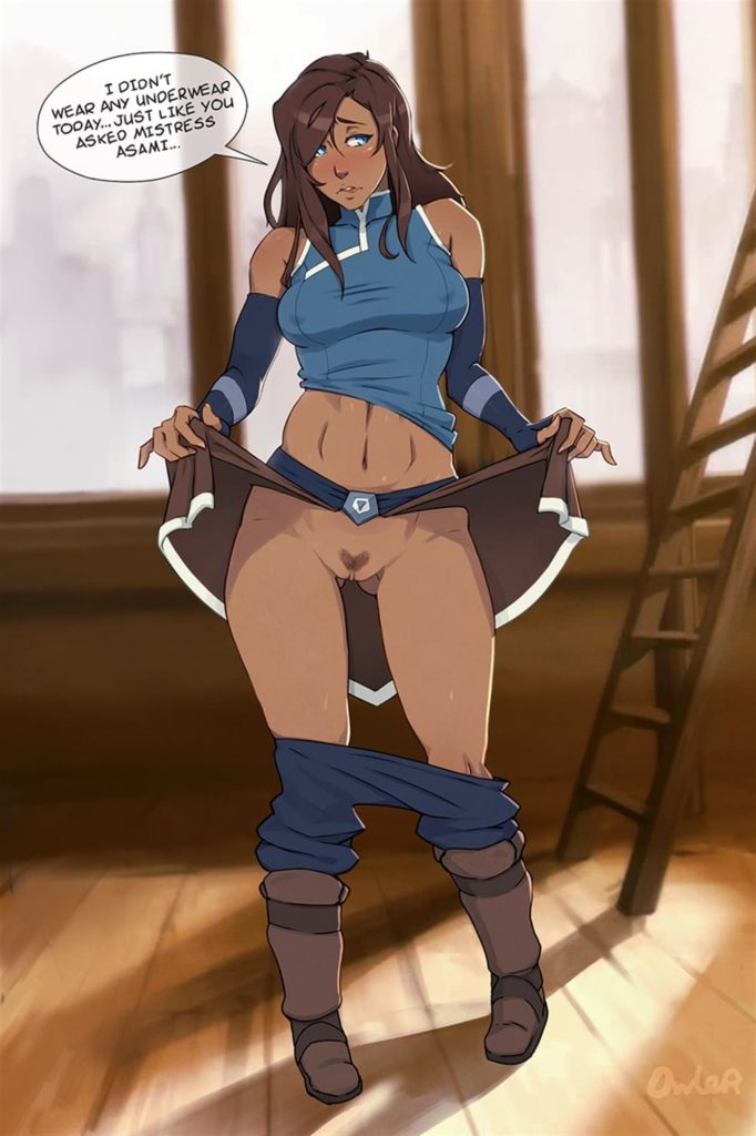 Korra being a sex slave for Asami