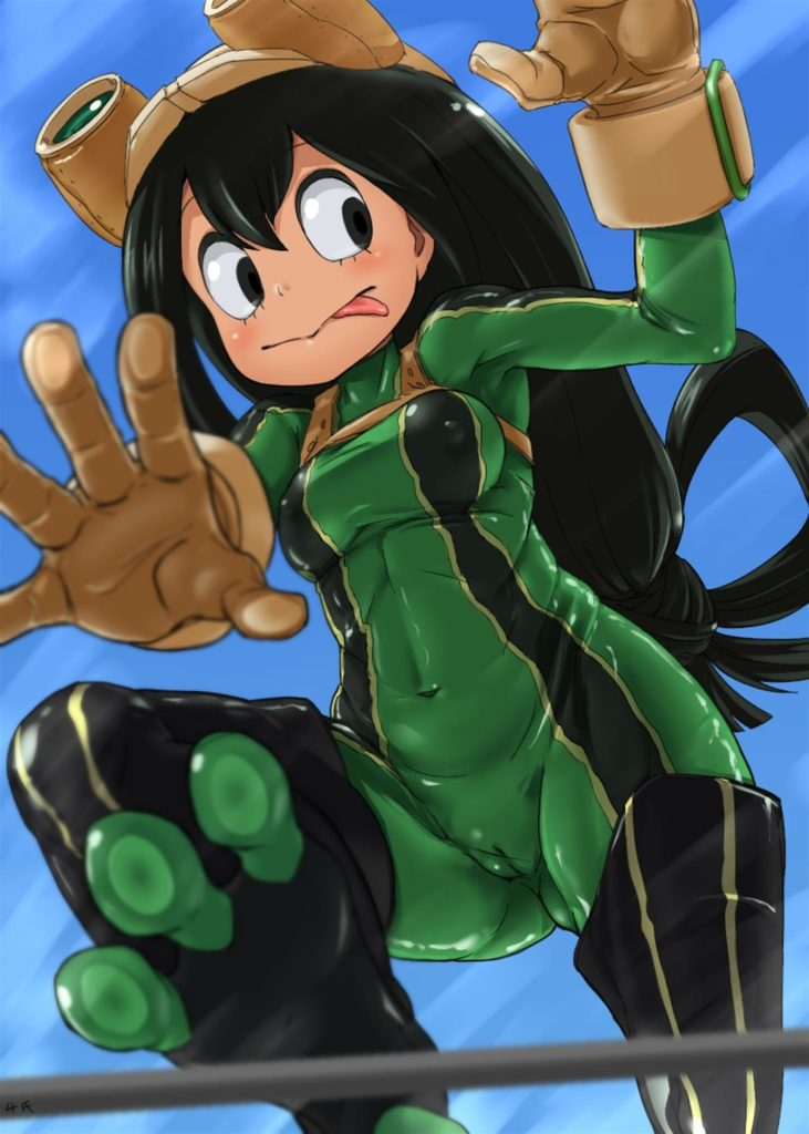 Small Froppy has cameltoe