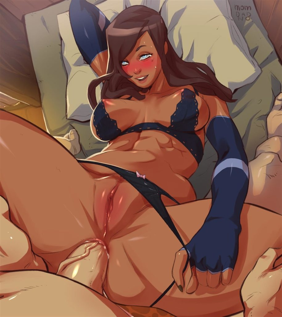 Pov fucking Asami in the ass