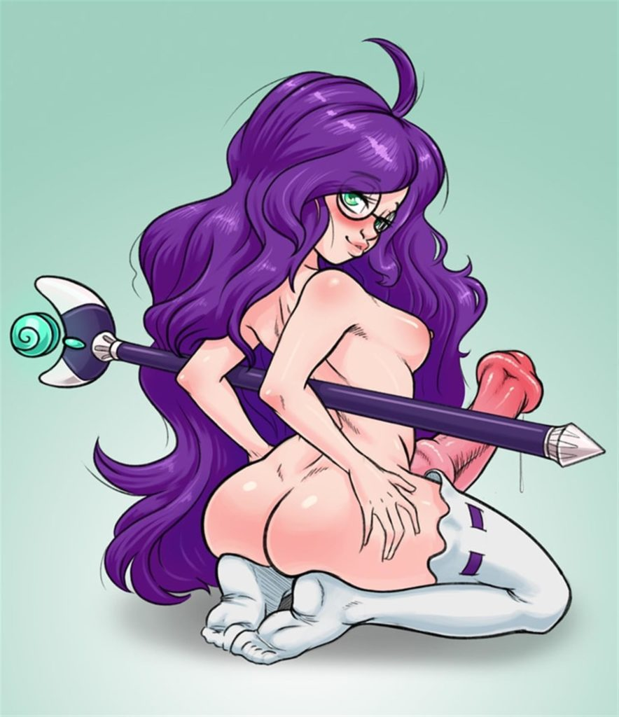 Humanized young futa Rarity