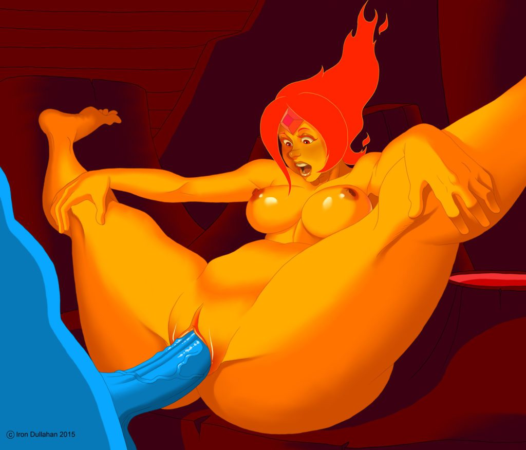 Flame Princess getting fucked by Ice Queen