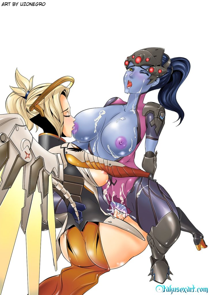 Mercy and Widowmaker having sex