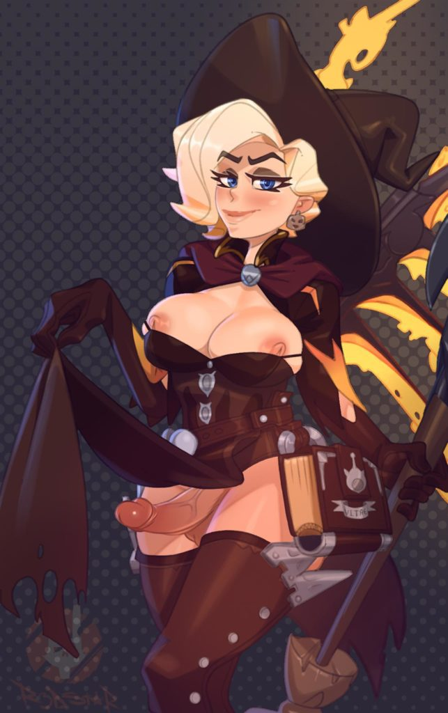 Futa Witch Mercy