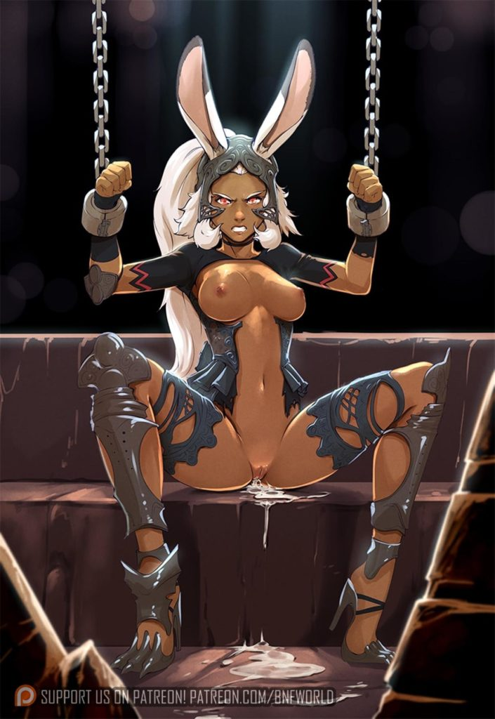 Fran in chains
