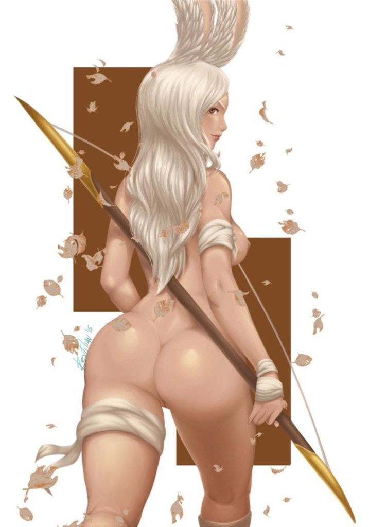 Bubble butt viera