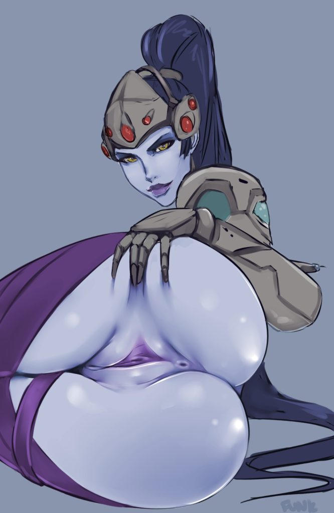 Widow spreading ass