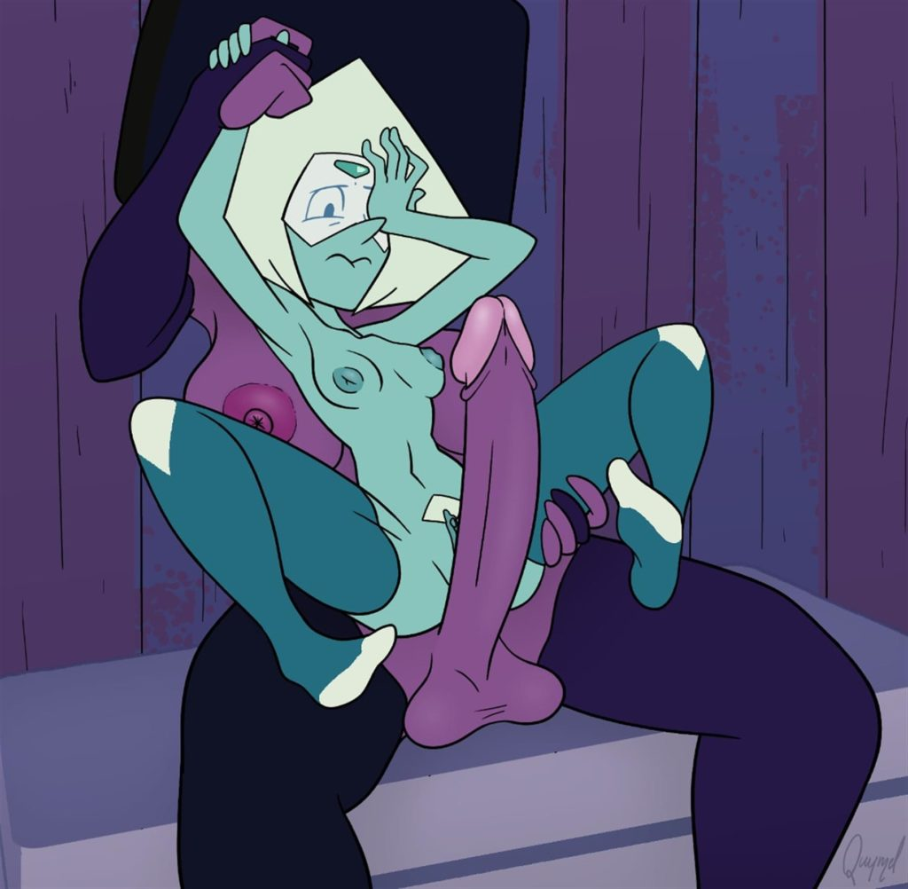 Peridot cant believe Garnets dick