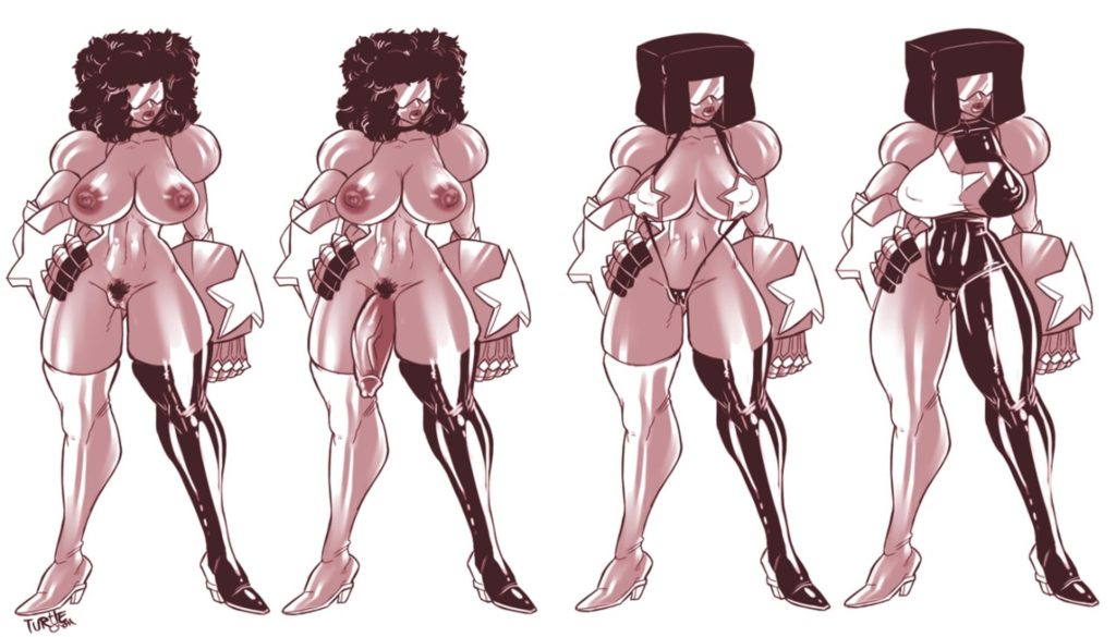 Garnet with beautiful tits