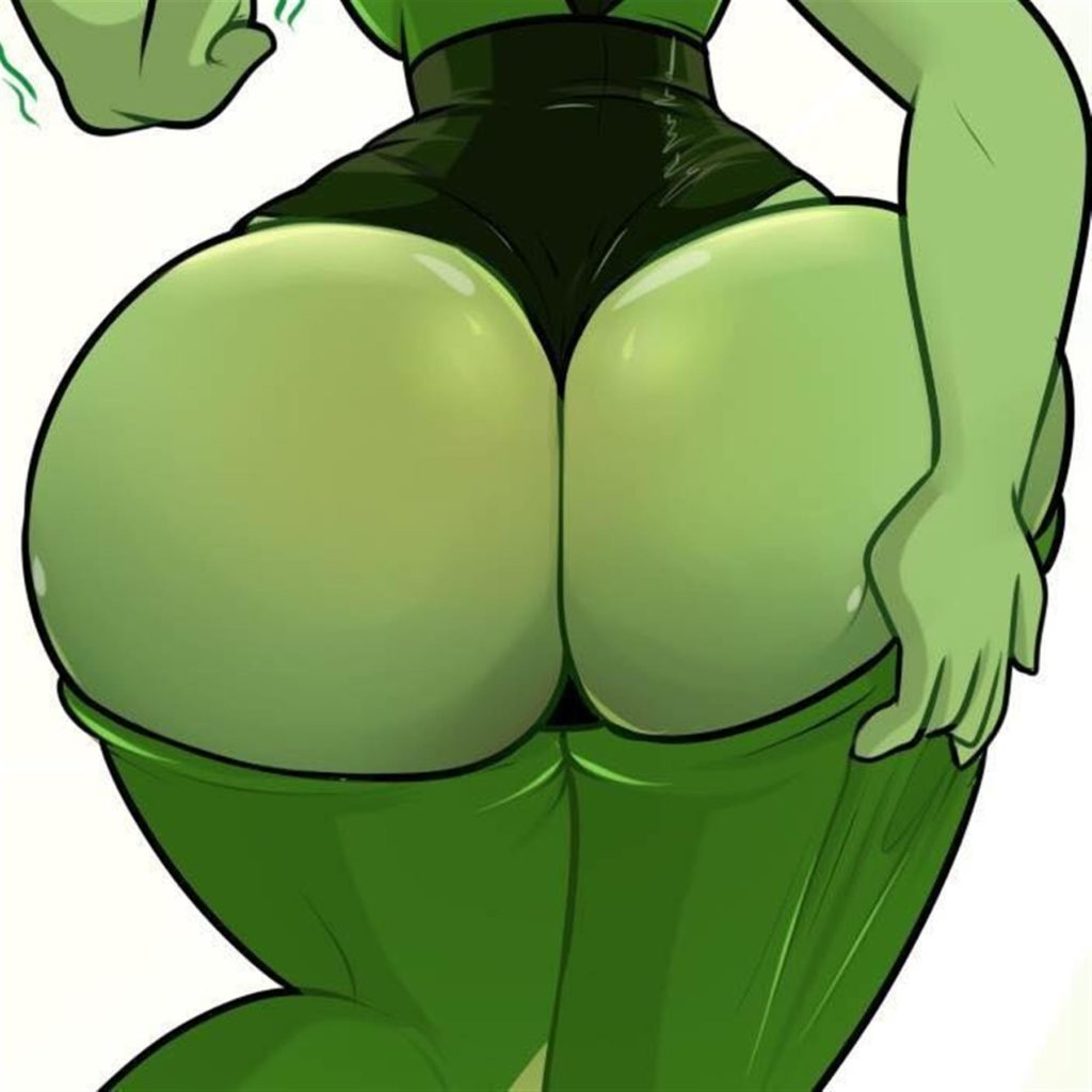 Peridot in corset shows off her thick fat ass