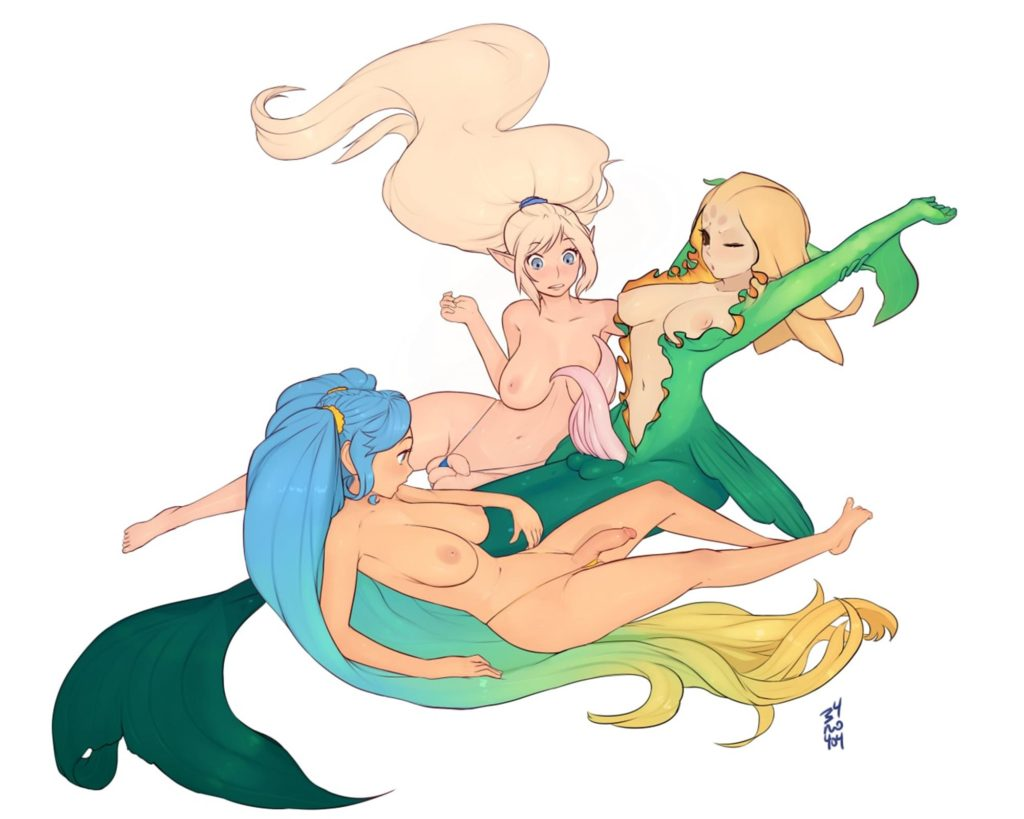 Nami with Janna and Sona
