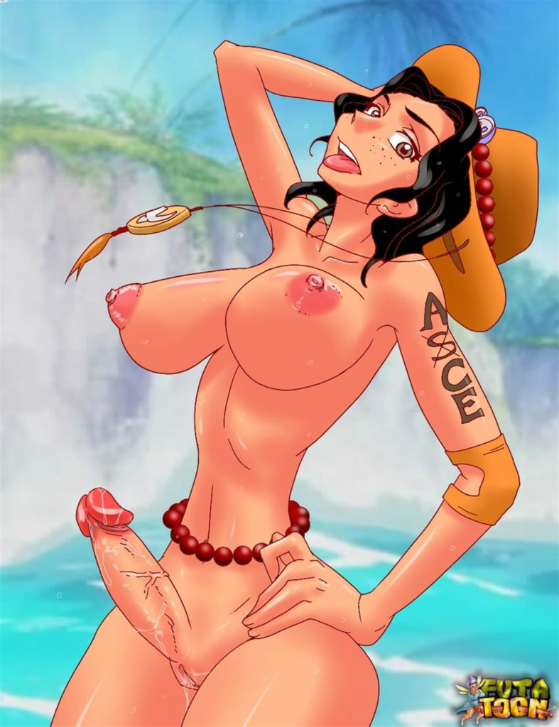 Ace as a futa female