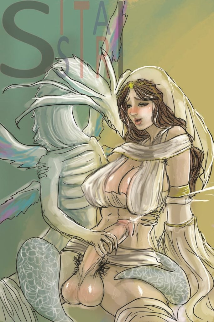 Seath the Scaleless jerking of Gwynevere