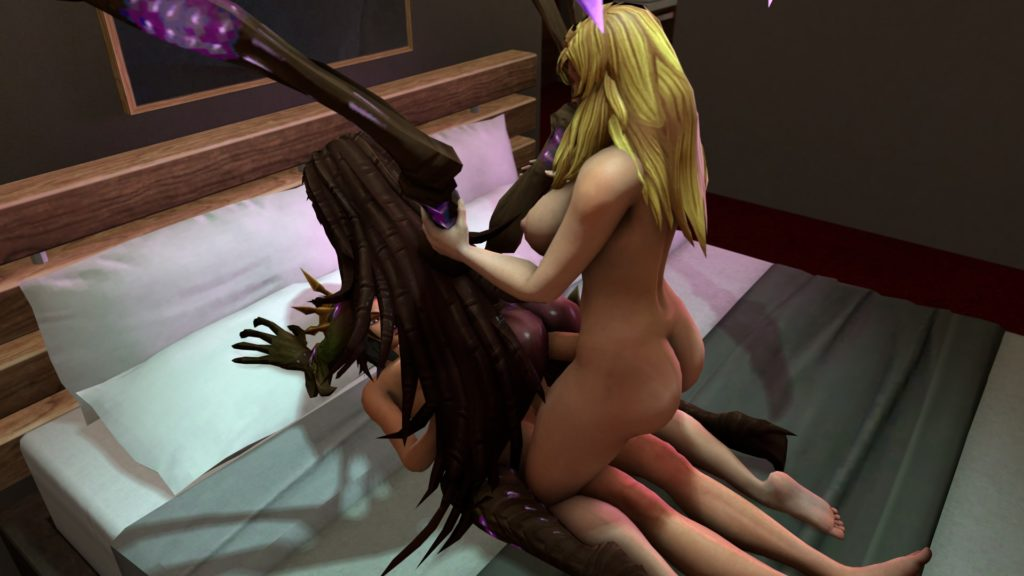 3d futa Jaina and Li Ming fucking Kerrigan