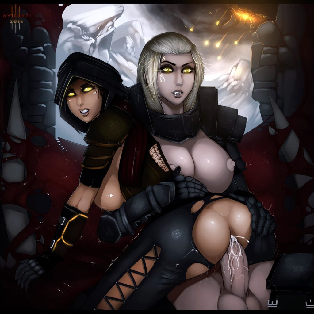 Diablo 3 demon hunter futa sex