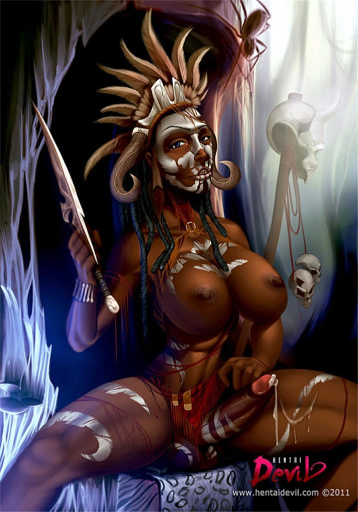 Futa witch doctor from diablo 3