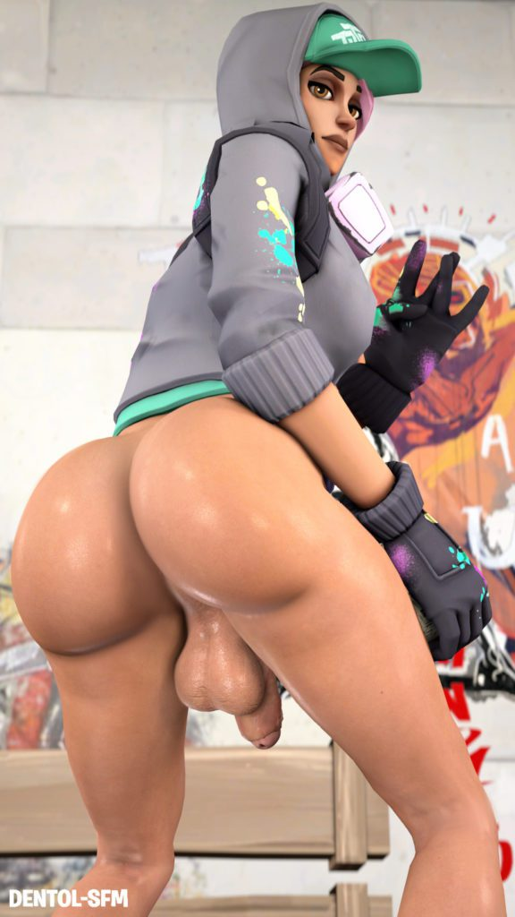 Futa Teknique nude ass