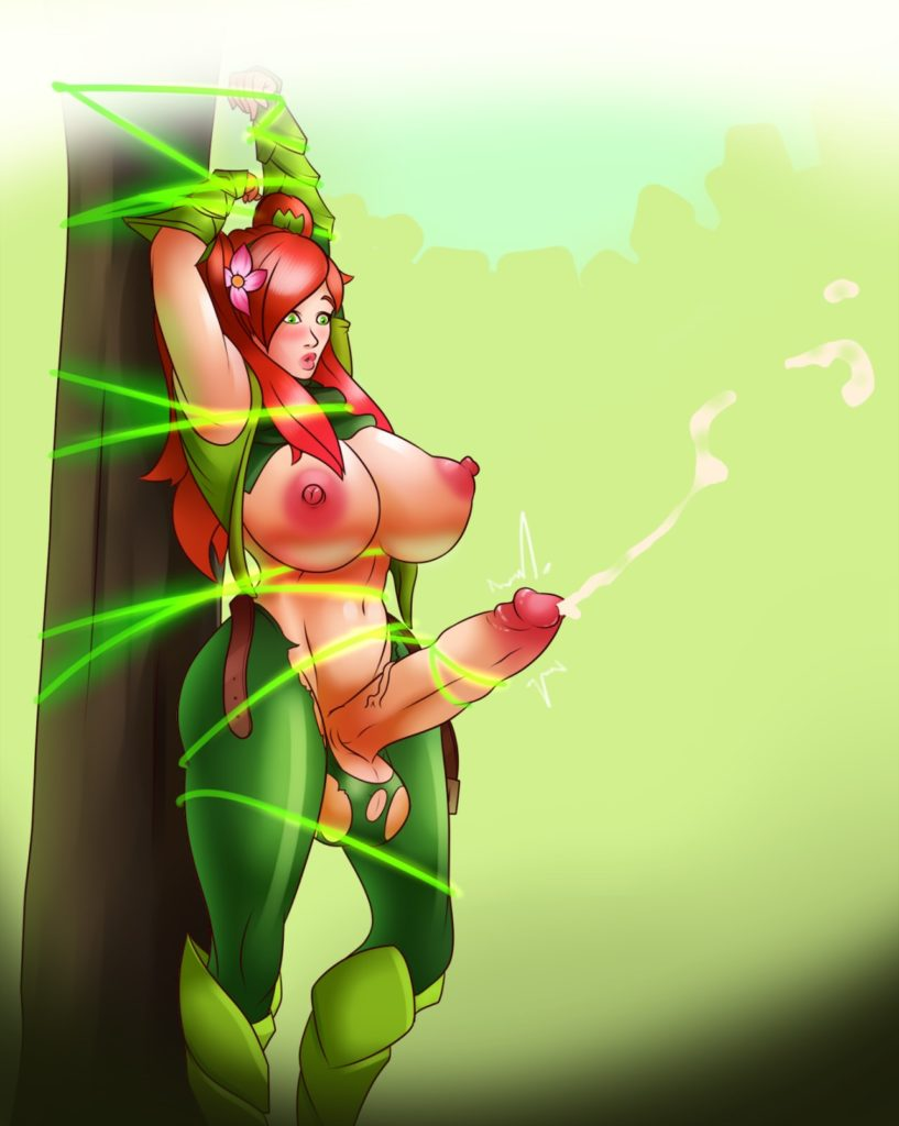 Futa Windranger tied up and cumming
