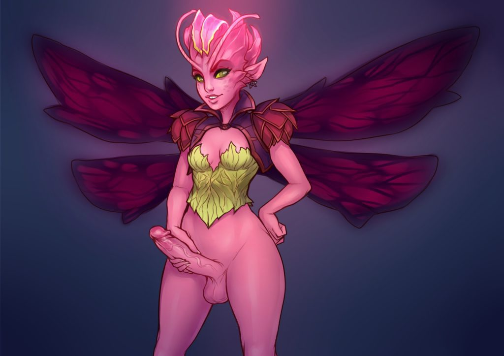 Dark Willow the futa fairy