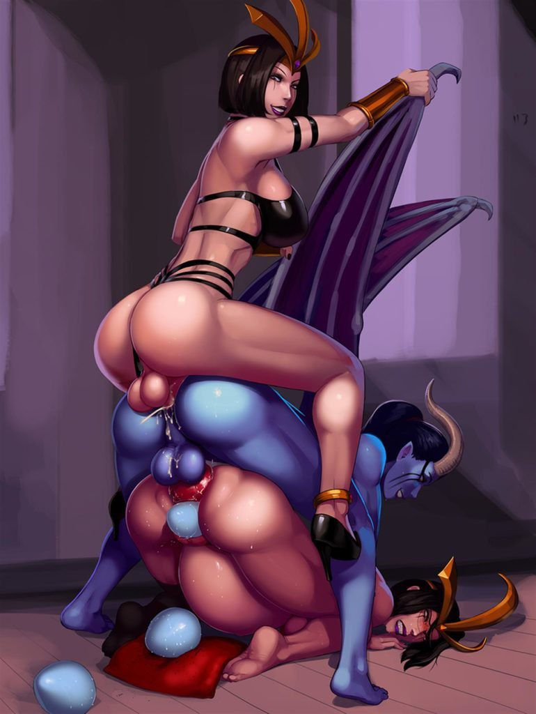 Leblanc and Queen of Pain fucking Leblanc