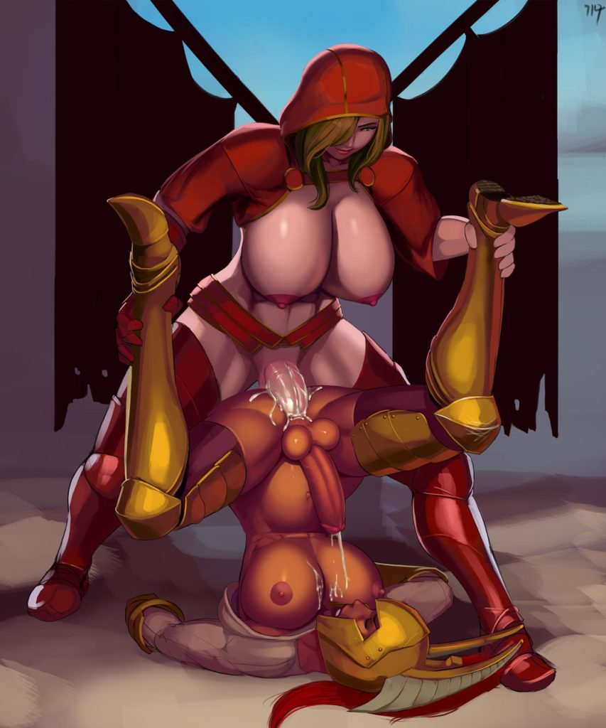 Futa girl fucking Legion Commander