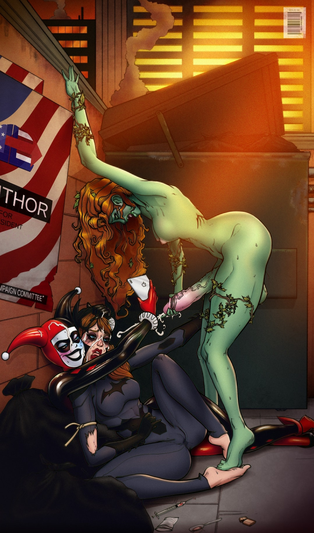 Harley Quinn And Robin Porn