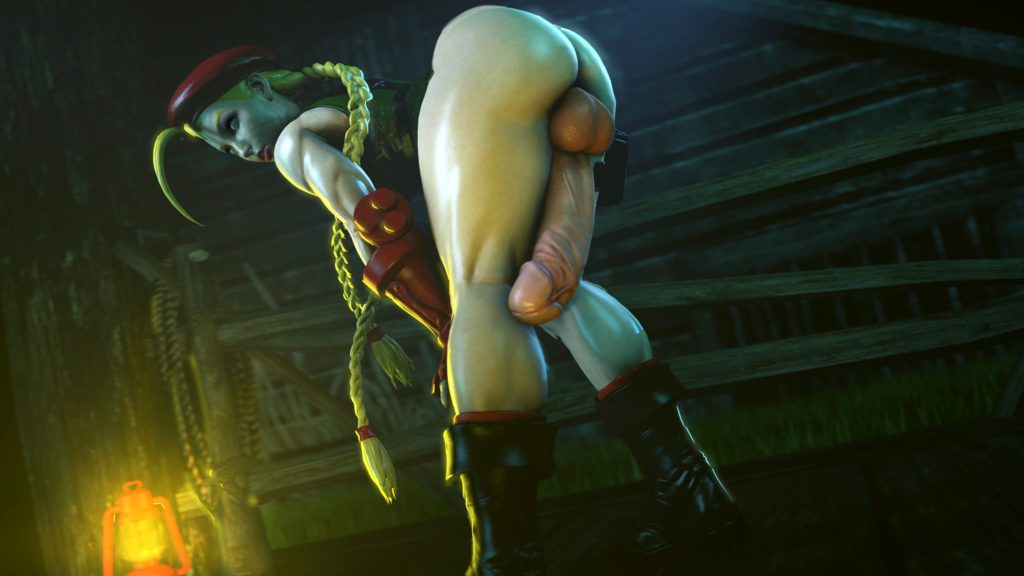 Thick thighs futa Cammy White 3d hentai