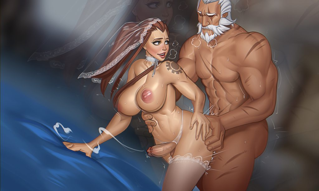 Mikiron - Futa Brigitte Overwatch porn rule 34 cartoon hentai nudes