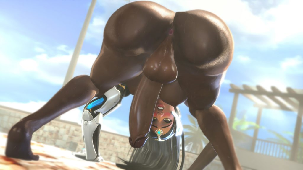 Mitrild SFM - Futa Symmetra Overwatch hentai rule 34 cartoon porn