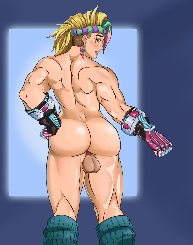 Saxwakuy - Futa totally 80's Zarya Overwatch hentai porn cartoon rule 34