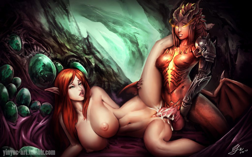Yinyue - Futa Dragon Symmetra Overwatch hentai rule 34 cartoon porn
