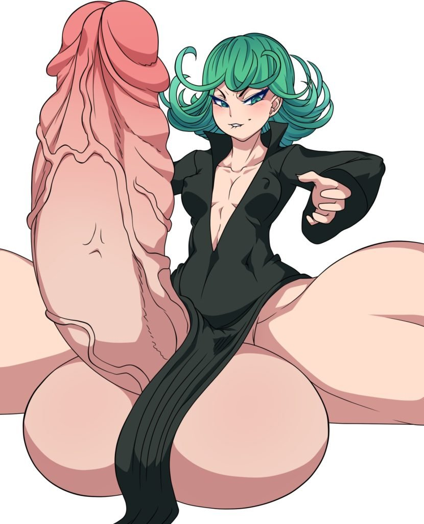 Ber00 - Futa Tatsumaki with a giant dick One Punch Man hentai rule 34 porn