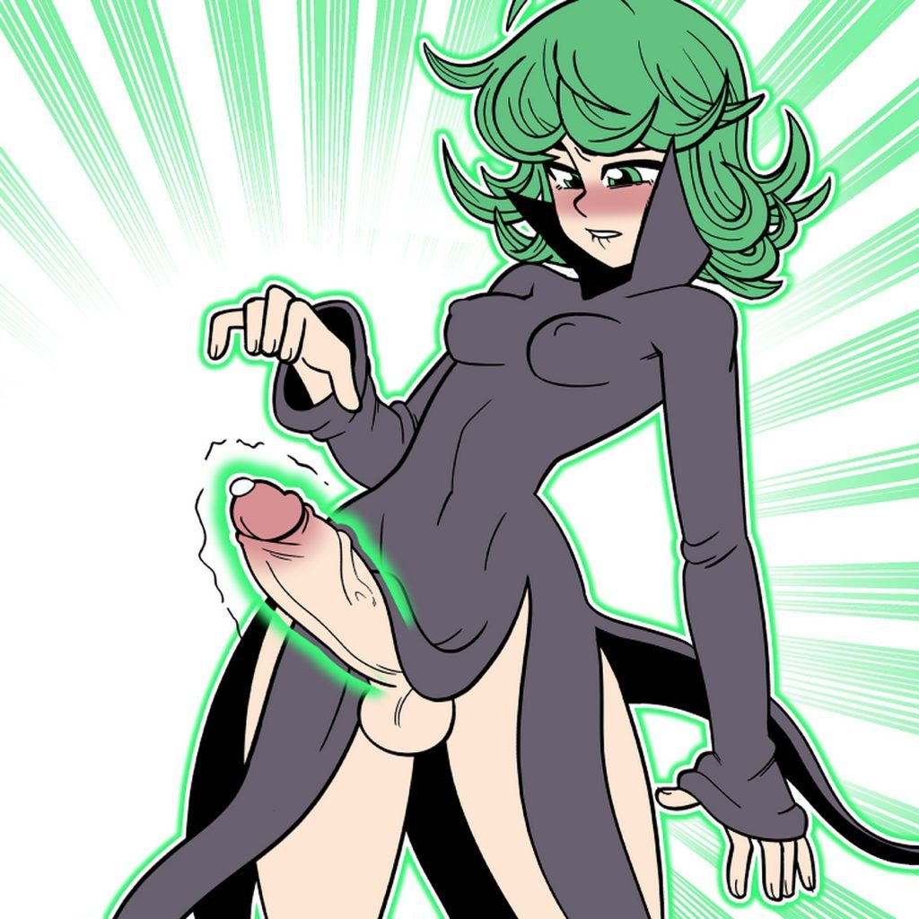 Shamefuldisplay - Futa Tatsumaki using telekinesis to make her dick cum One Punch Man hentai rule 34 porn