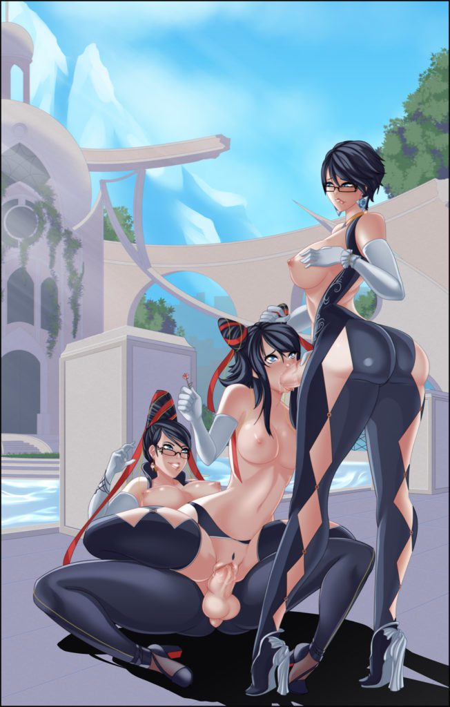 Idunna - Different versions of futa Bayonetta fucking hentai rule 34 porn