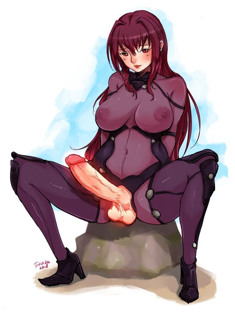 tinnies futa scathach fate grand order hentai