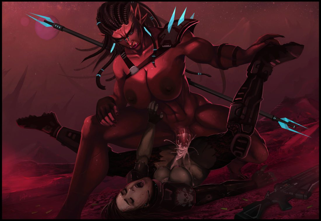Lucien - Muscular futa demon porn