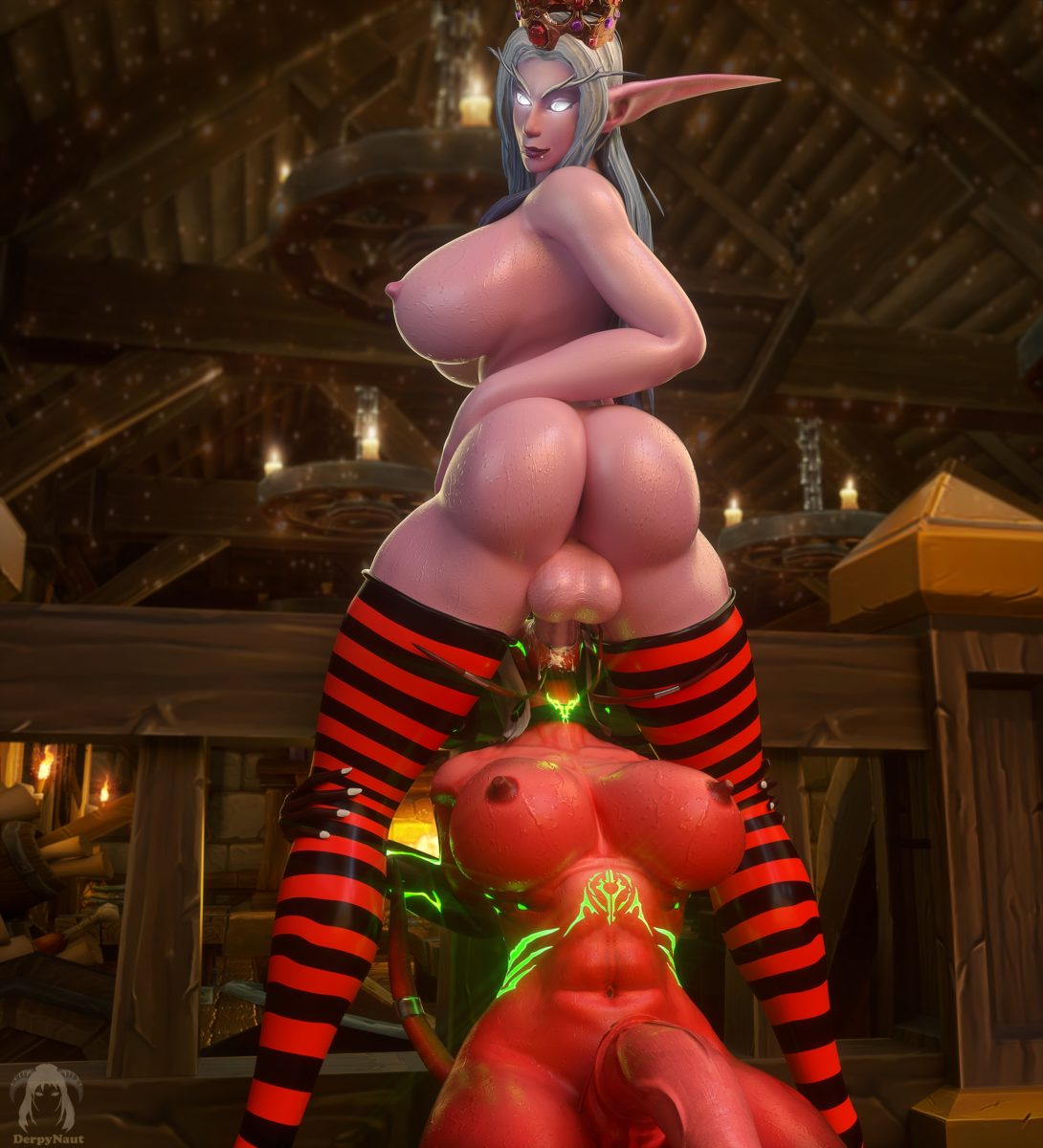 Derpynaut - Futanari alynisa eredar night elf world of warcraft hentai rule 34 muscle porn