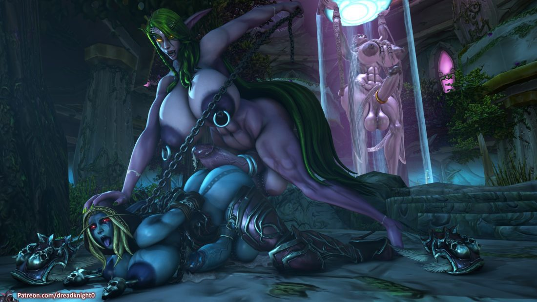 Dreadknight - Futanari blood elf night elf sylvanas windrunner muscle hentai rule 34 porn