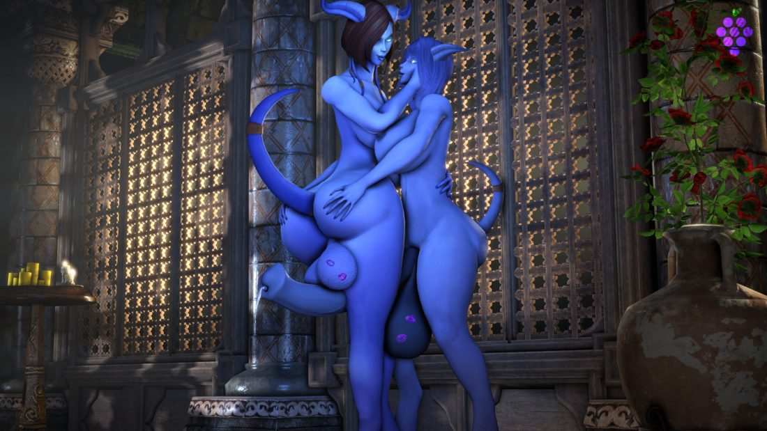 Sweetgrapes - Futanari draenei world of warcraft
