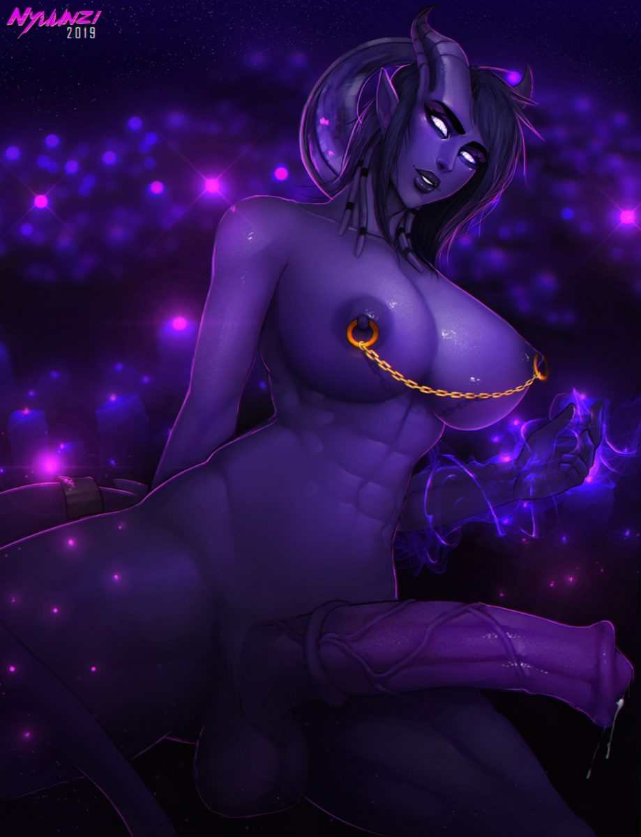 Nyuunzi - Futa draenei world of warcraft porn