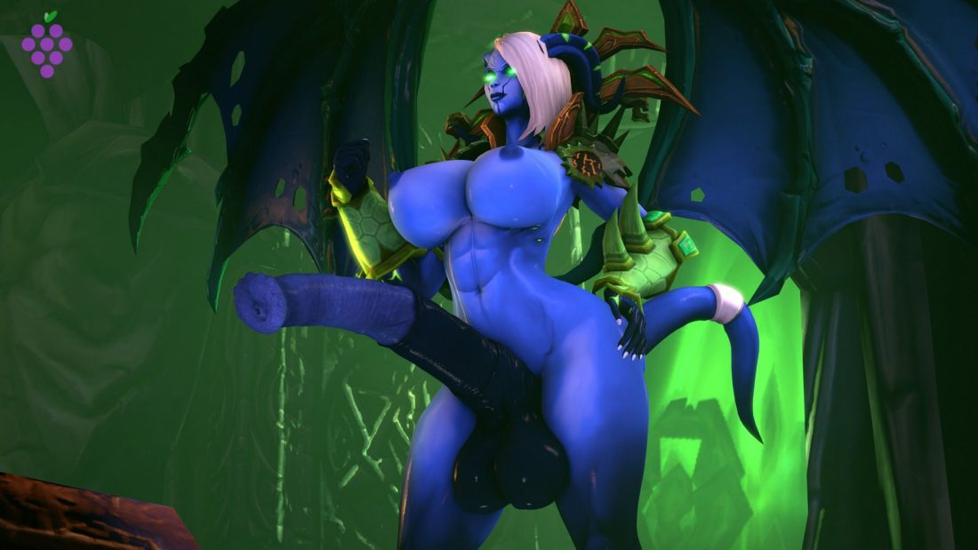 Sweetgrapes0101 - Futa draenei world of warcraft porn