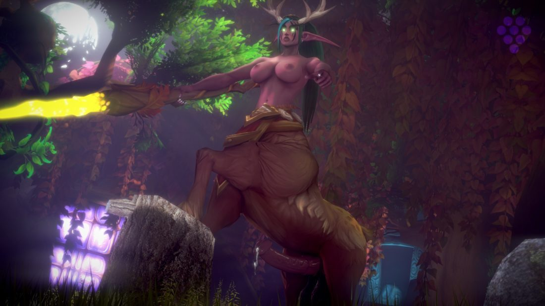 Sweetgrapes0101 - Futa dryad centaur wow