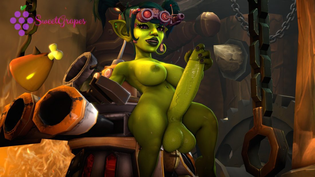 Sweetgrapes0101 - Futa goblin world of warcraft 4