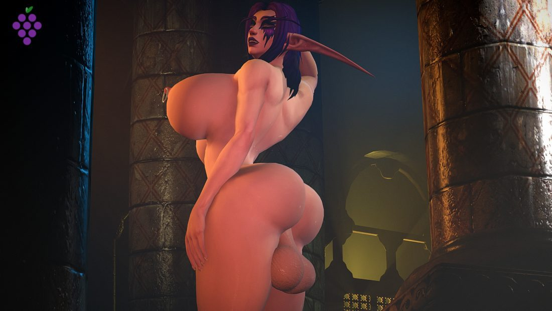 Sweetgrapes0101 - Futa night elf wow
